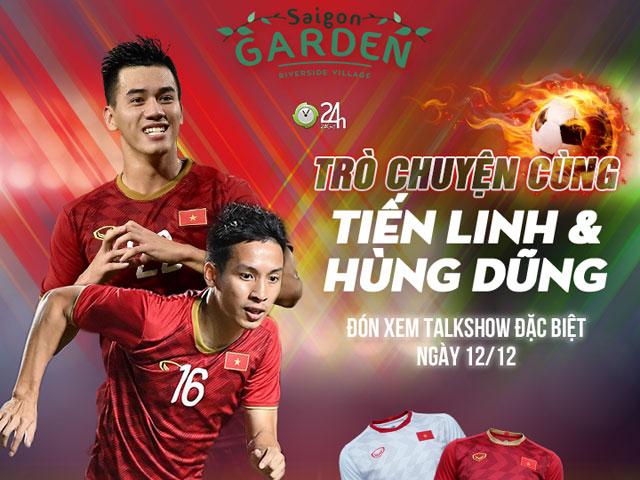 Giao lưu SAO U22 Việt Nam, Tiến Linh và Hùng Dũng trên 24h.com.vn