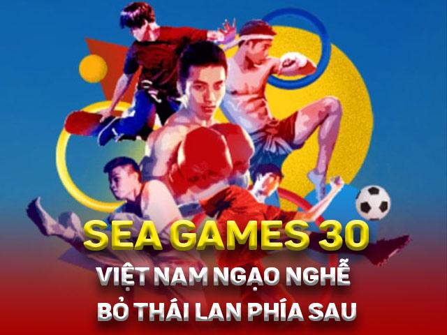 Đua vàng SEA Games: Việt Nam giật bao nhiêu huy chương vượt Thái Lan?