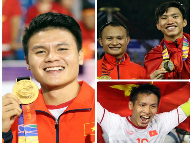 Đua Quả bóng vàng Việt Nam 2019: 3 người hùng SEA Games chờ hạ bệ Quang Hải