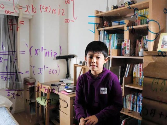 Thần đồng Toán học nhỏ tuổi nhất Nhật Bản