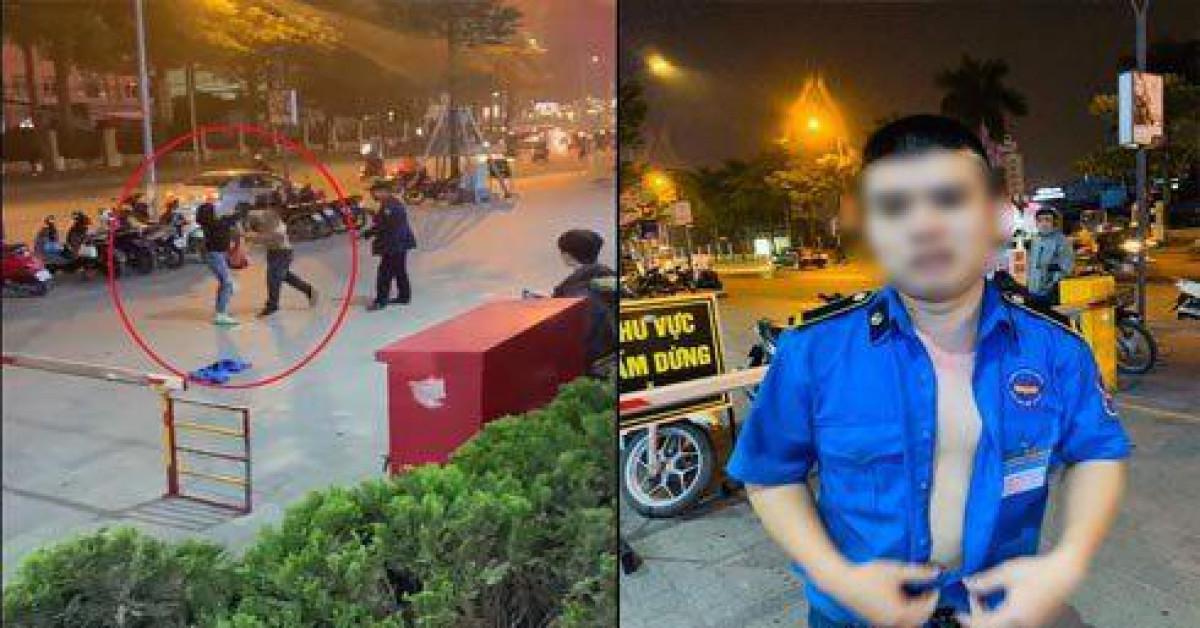 Hà Nội: Điều tra vụ nam bảo vệ đấm, chửi tục một phụ nữ tại trung tâm thương mại