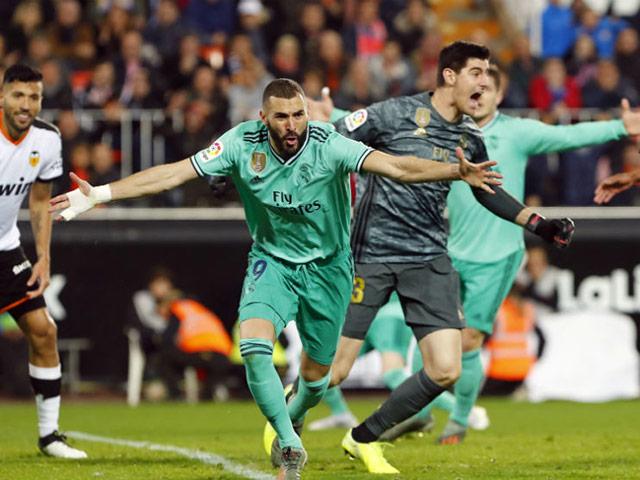 Video highlight trận Valencia - Real Madrid: Diễn biến đau tim, vỡ òa phút bù giờ