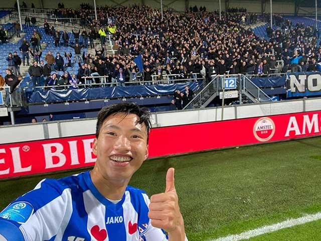 Văn Hậu ra mắt lịch sử cho Heerenveen: Được tung vào sân... nhờ fan?
