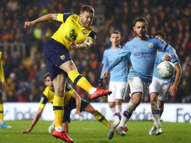 Video highlight trận Oxford United - Man City: Cú đúp siêu sao, vỡ mộng gây sốc