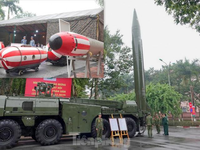 Cận cảnh ngư lôi, tổ hợp tên lửa của Quân đội nhân dân Việt Nam