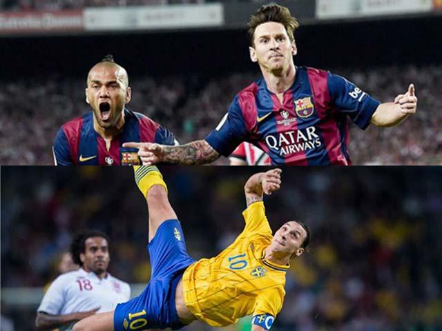 Bàn thắng số 1 thập kỷ: Messi, Ibrahimovic vẫn thua SAO lạ mặt?