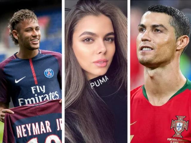 Siêu mẫu nóng bỏng lớn tiếng: Ronaldo, Neymar cũng bị từ chối phũ phàng