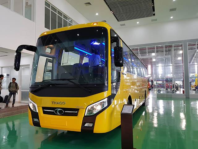THACO xuất khẩu xe khách cỡ lớn đi thị trường Philippines