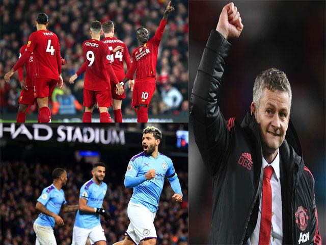 Diễn biến nóng BXH Ngoại hạng Anh: Liverpool - Man City bất ngờ giúp MU