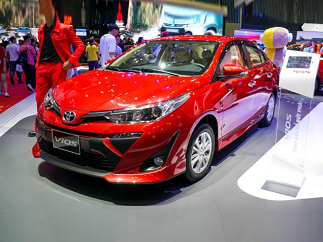 Toyota Vios 2020 chuẩn bị ra mắt tại Việt Nam với ba phiên bản