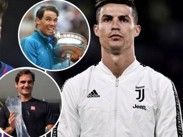 """Federer và Nadal """"phổng mũi"""" vì Ronaldo, Djokovic luyện tuyệt kỹ"""