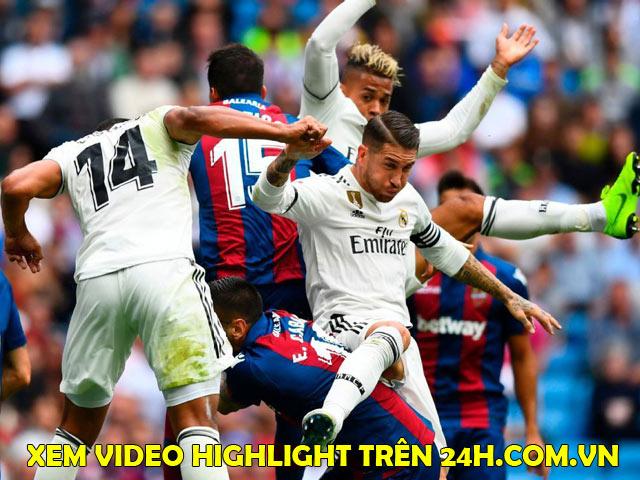 """Nhận định bóng đá Levante - Real Madrid: """"Nhà vua"""" quyết chiếm ngôi đầu"""