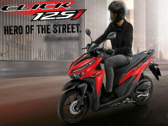 Đánh giá chi tiết 2021 Honda Click giá từ 37,86 triệu đồng