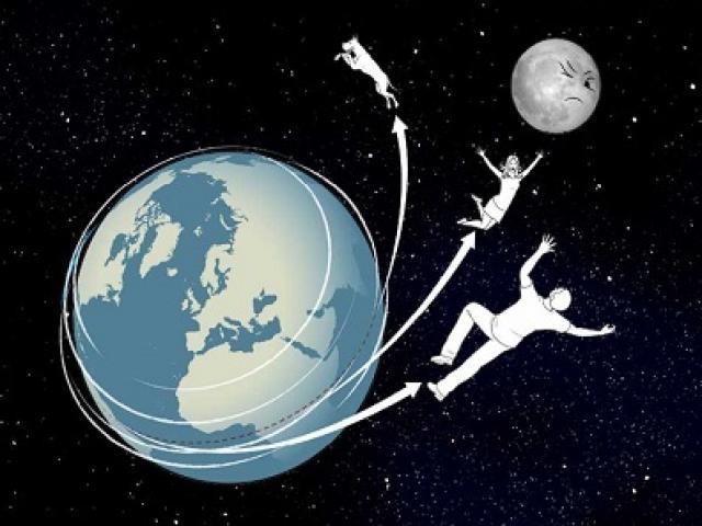 Tại sao con người không bị văng ra khỏi Trái Đất khi đang quay?