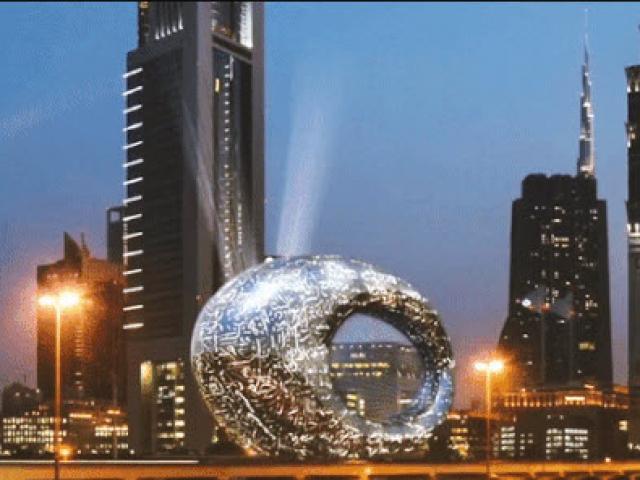 Chiêm ngưỡng bảo tàng giống con mắt khổng lồ, nơi định hình tương lai con người ở Dubai