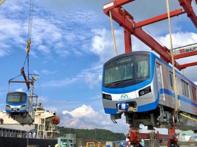 Cận cảnh: Toa tàu metro số 1 đã đến TP.HCM