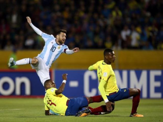 Trực tiếp bóng đá Argentina - Ecuador: Messi mở tỉ số trên chấm 11m