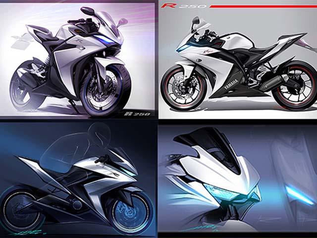 Đây là Yamaha YZF-R25 động cơ 4 xy lanh mới: Sắc sảo và tốc độ hơn