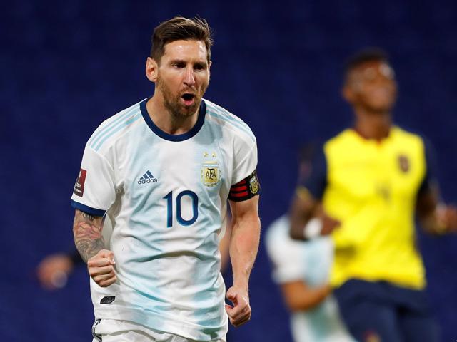 Trực tiếp bóng đá Argentina - Ecuador: Bỏ lỡ cơ hội cuối cùng (Hết giờ)