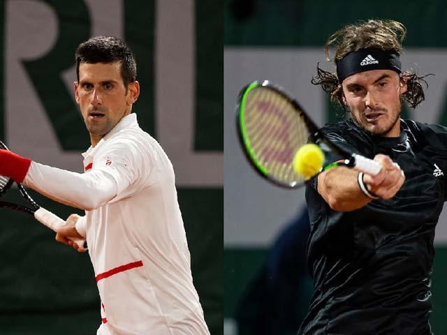 Trực tiếp tennis Djokovic - Tsitsipas: Lần đầu tiềm ẩn rủi ro cho Nole (Bán kết Roland Garros 2020)