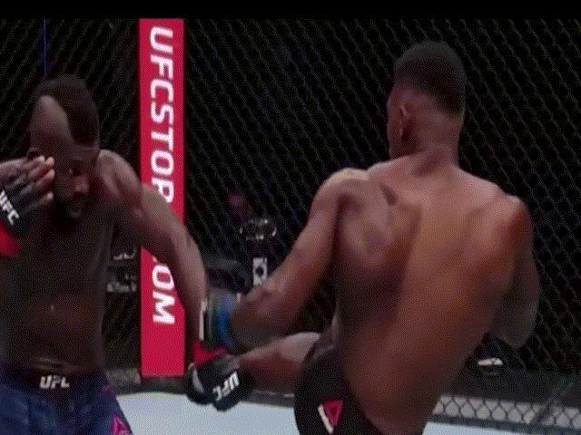 """UFC xuất hiện knock-out """"điên rồ"""" nhất lịch sử: Cú """"đóng đinh"""" giữa mặt"""