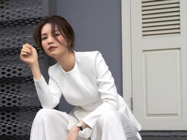 """Nhan sắc """"mê hoặc"""" của MC VTV từng giành ngôi Á hậu Việt Nam"""
