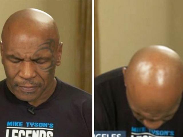 """Mike Tyson lộ """"gánh nặng"""" tuổi già: Ngủ gật khi phỏng vấn trực tiếp"""