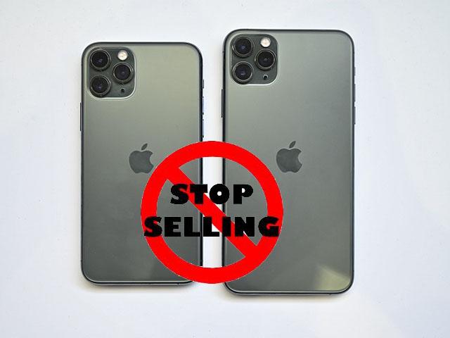 """Apple giảm giá sâu iPhone 11 iPhone XR, """"khai tử"""" iPhone 11 Pro"""