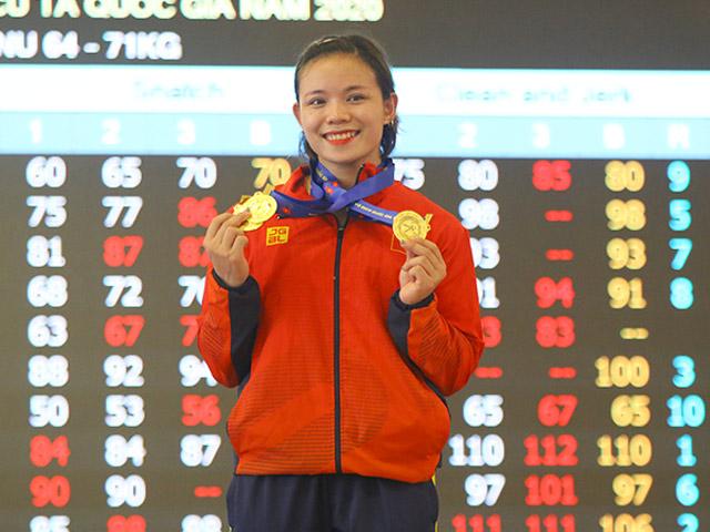 Hot girl cử tạ Hồng Thanh vượt thành tích SEA Games, tiếc 2 lần bỏ thi
