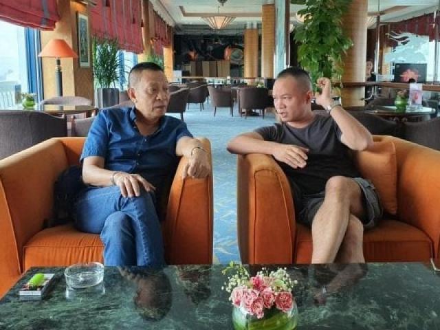 Ảnh hiếm hoi của MC Lại Văn Sâm cùng con trai sau 3 năm nghỉ hưu