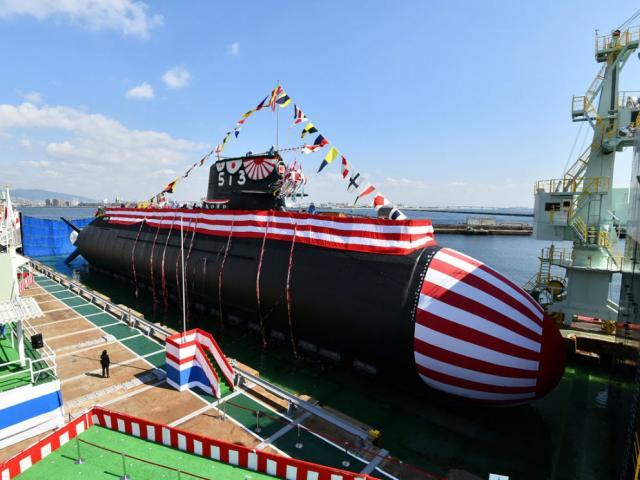Sức mạnh tàu ngầm tấn công 3.000 tấn Nhật Bản mới hạ thủy giữa căng thẳng với TQ