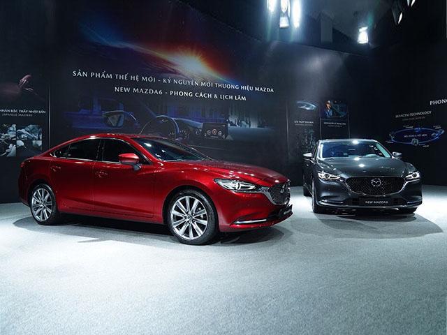 Giá lăn bánh xe Mazda6 mới nhất tháng 10/2020, từ 889 triệu đồng