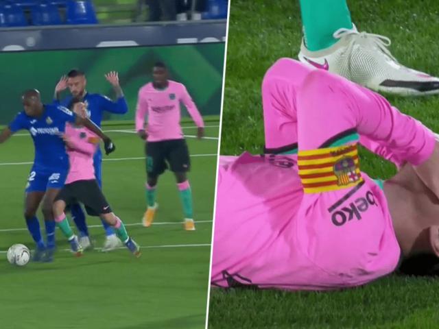 Messi bị chơi xấu gây bức xúc, Koeman tức giận với cầu thủ Getafe