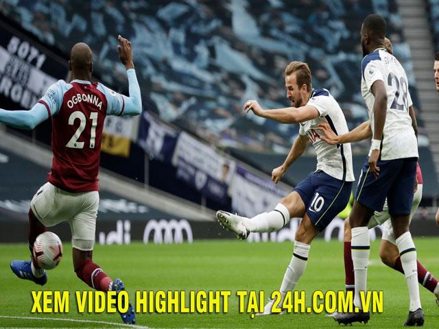 Trực tiếp bóng đá Tottenham - West Ham: Chóng vánh 3 bàn