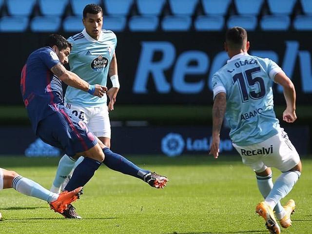 Video highlight trận Celta Vigo – Atletico Madrid: Luis Suarez mở điểm, chốt hạ bù giờ