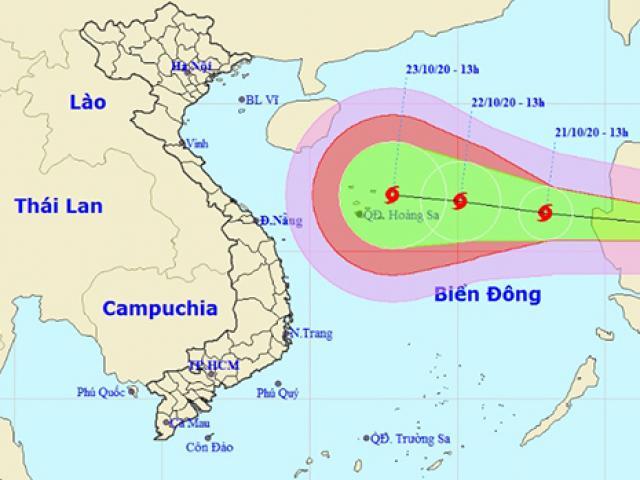 Video đường đi bão Saudel đang tiến vào Biển Đông, dự báo giật tới cấp 14