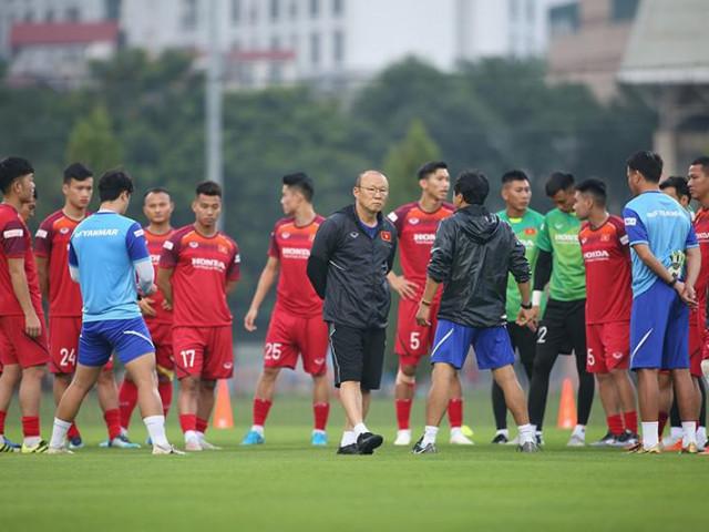 Ông Park đề nghị tập trung đội tuyển Việt Nam dài ngày