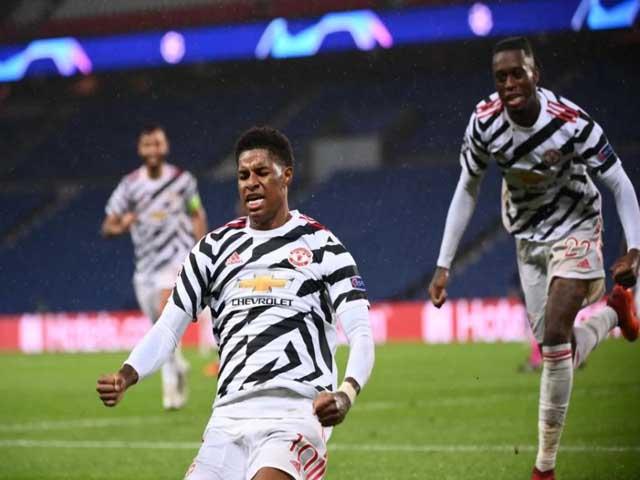 """Rashford 2 lần """"kéo sập"""" Paris: Lu mờ siêu sao Mbappe, hung thần của PSG"""
