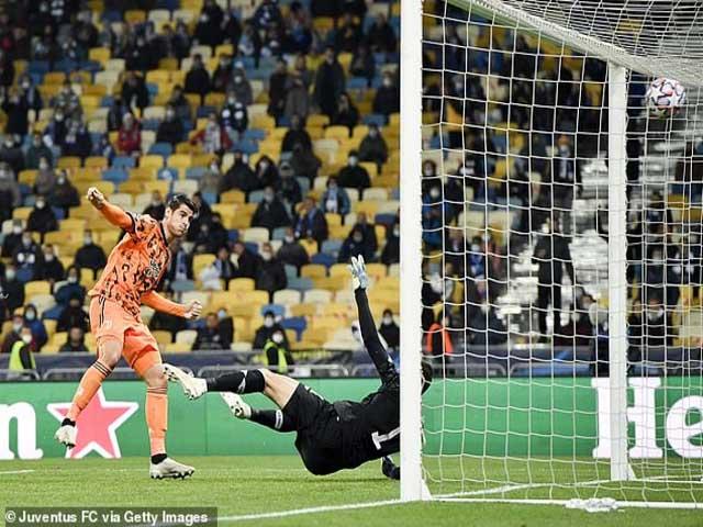 """Juventus đại thắng C1: """"Hoàng tử"""" Morata chói sáng, sẵn sàng """"kế vị"""" Ronaldo"""