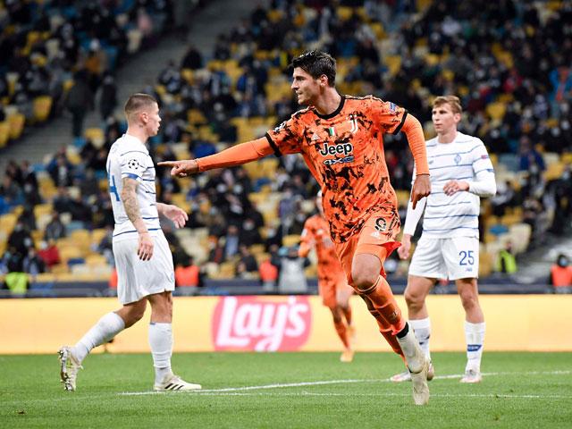 Kết quả bóng đá Cúp C1 Dynamo Kyiv - Juventus: Bước ngoặt hiệp 2, cú đúp mãn nhãn