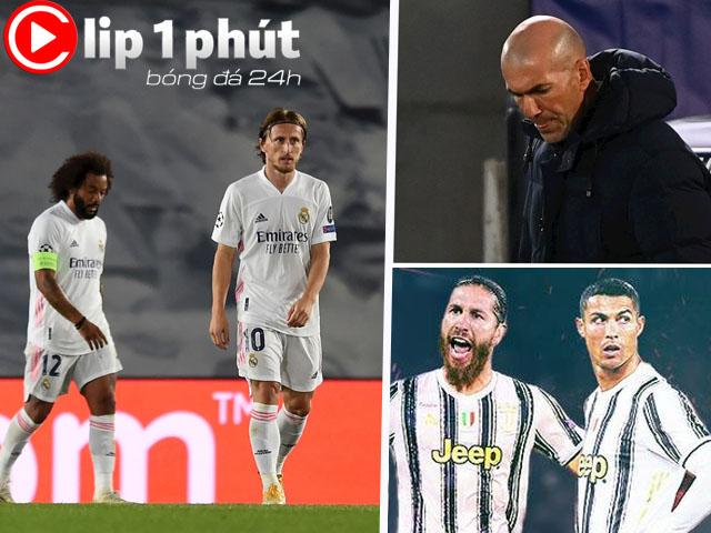 Real thua sốc ngập nỗi lo trước Siêu kinh điển, Ramos sẽ đoàn tụ Ronaldo? (Clip 1 phút Bóng đá 24H)