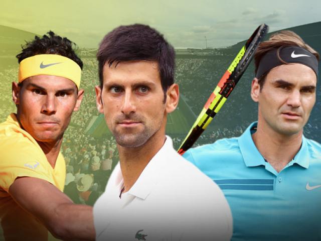 """Djokovic muốn """"san bằng tất cả"""": Không ngán Nadal, tuyên chiến Federer"""