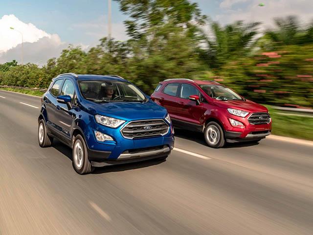 Ford EcoSport 2020 vừa ra mắt đã giảm giá gần 100 triệu đồng