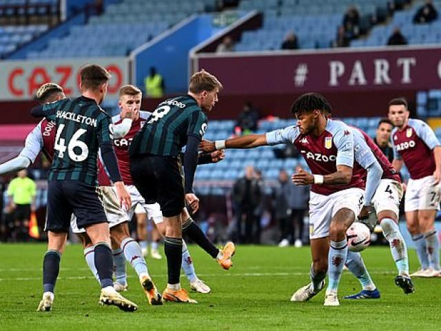 Video highlight trận Aston Villa -  Leeds United: Hat-trick cực sốc, vượt mặt Liverpool