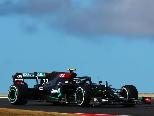 """Đua xe F1, chạy thử Portuguese GP: Hỗn loạn 2 lần cờ đỏ, Mercedes vẫn """"ngự trị"""""""
