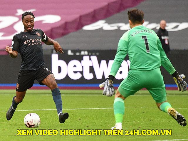 Video highlight trận West Ham - Man City: Siêu phẩm móc bóng, De Bruyne bất lực