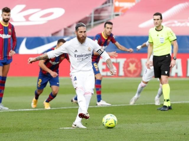 """Real hạ Barca ở """"Siêu kinh điển"""": Báo chí TBN tiếc cho Messi, chỉ trích VAR"""