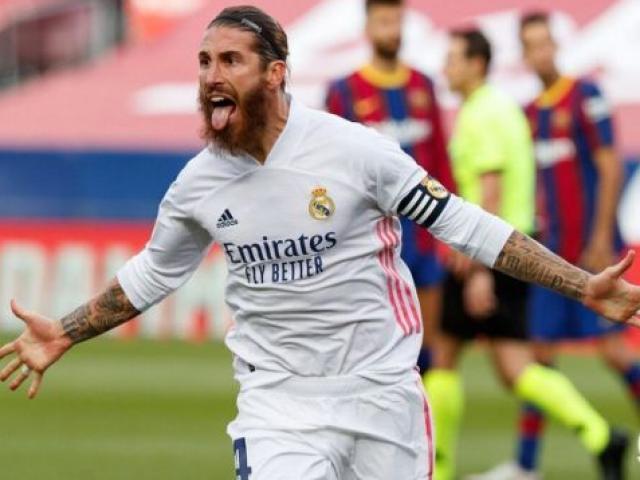 """Giúp Real thắng Barca, Sergio Ramos sáng cửa là """"Hậu vệ hay nhất lịch sử"""""""