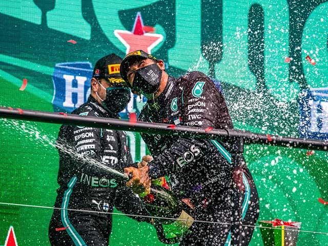 """Đua xe F1, thống kê Portuguese GP: Kỷ lục thế giới mới cho """"nhà vua"""" số 44"""