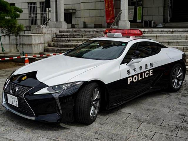 Ngắm xe Lexus LC 500 phiên bản đặc biệt của cảnh sát Nhật Bản